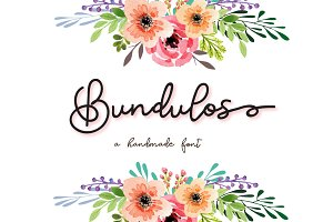 Bundulos - A calligraphy script Font