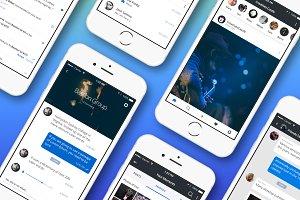 Social Media App Mobile Kit