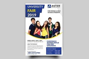 University Fair flyer