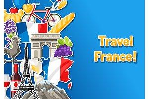France banner design.