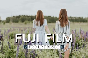 Fuji Film Preset for Adobe Lightroom