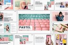 PASTEL - Google Slides Template by  in Presentations