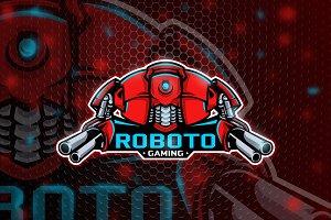 Roboto - Mascot & Esport logo