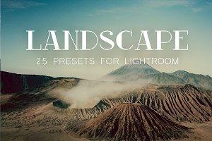 PERFECT Lightroom Landscape Presets