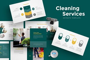 Cleaning Services Keynote Template