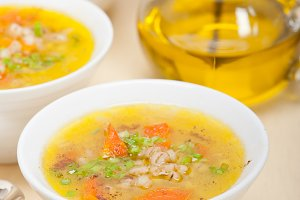 Syrian barley broth soup Aleppo style called talbina 001.jpg