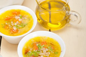 Syrian barley broth soup Aleppo style called talbina 002.jpg