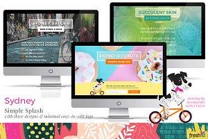 Sydney - Website Landing Page