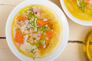 Syrian barley broth soup Aleppo style called talbina 005.jpg