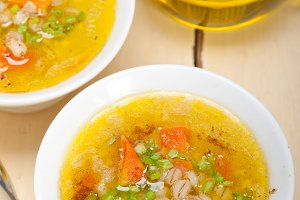 Syrian barley broth soup Aleppo style called talbina 004.jpg