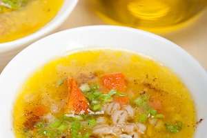 Syrian barley broth soup Aleppo style called talbina 006.jpg