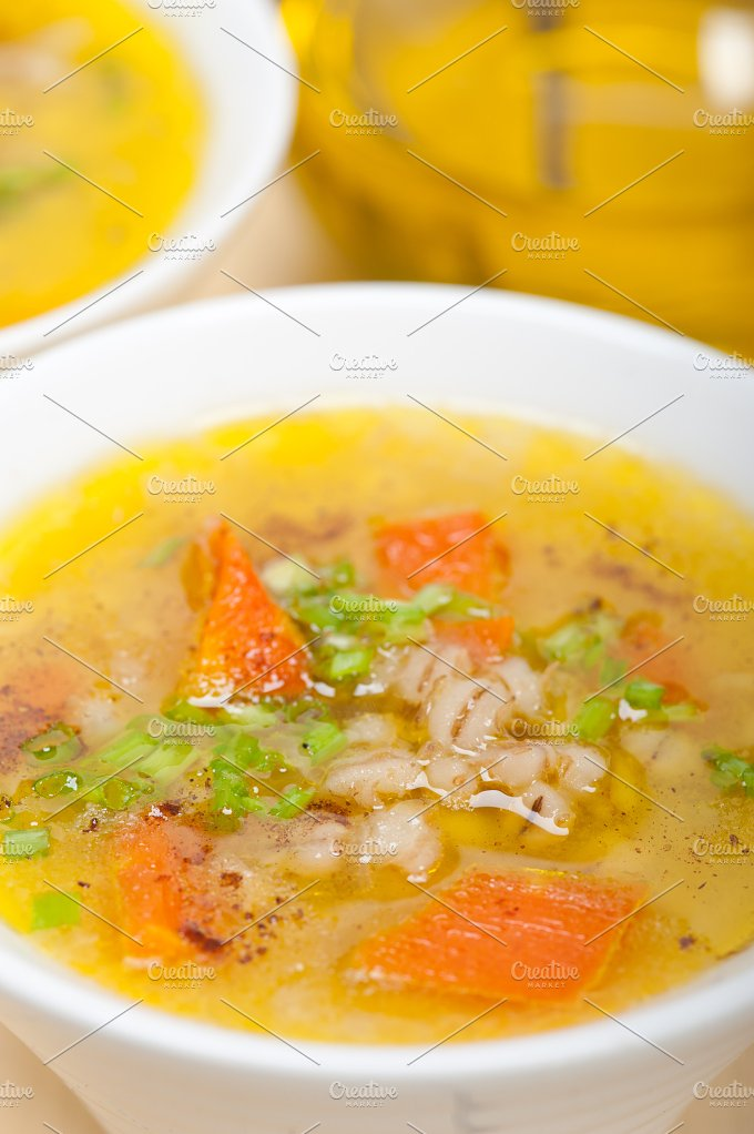 Syrian barley broth soup Aleppo style called talbina 007.jpg - Food & Drink