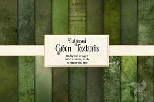 Distressed Green Textures