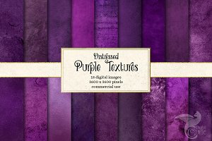 Distressed Purple Textures