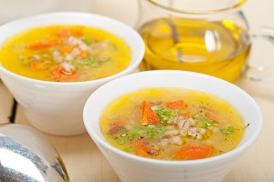 Syrian barley broth soup Aleppo style called talbina 009.jpg