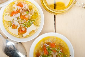 Syrian barley broth soup Aleppo style called talbina 010.jpg
