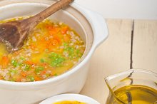 Syrian barley broth soup Aleppo style called talbina 011.jpg