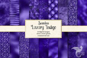 Luxury Indigo Textures