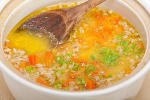 Syrian barley broth soup Aleppo style called talbina 012.jpg