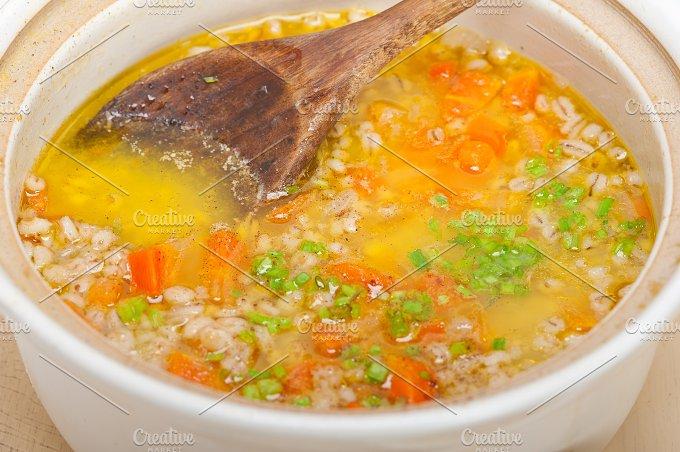 Syrian barley broth soup Aleppo style called talbina 012.jpg - Food & Drink