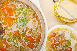 Syrian barley broth soup Aleppo style called talbina 016.jpg