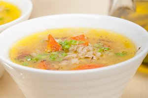 Syrian barley broth soup Aleppo style called talbina 017.jpg