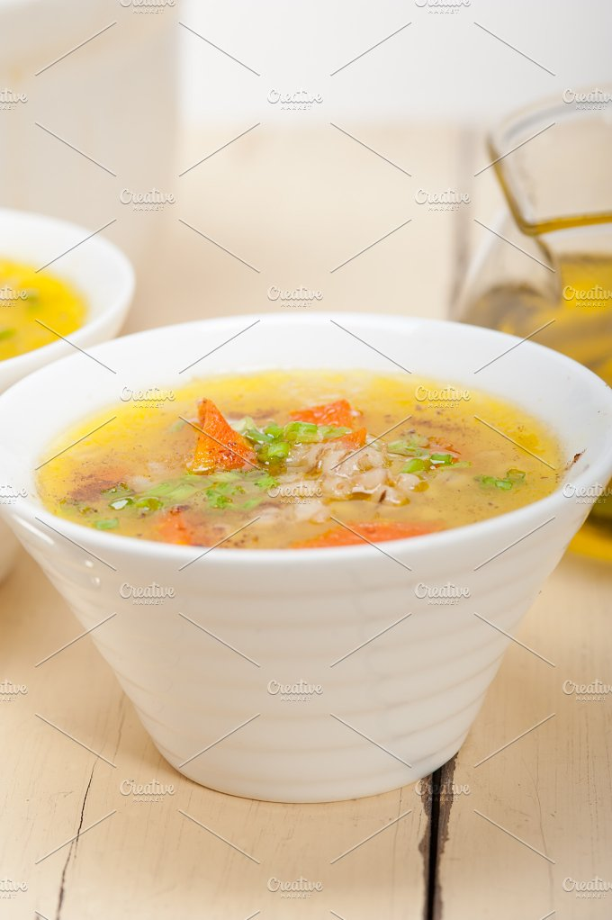 Syrian barley broth soup Aleppo style called talbina 017.jpg - Food & Drink