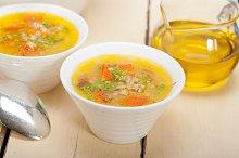 Syrian barley broth soup Aleppo style called talbina 019.jpg