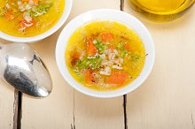Syrian barley broth soup Aleppo style called talbina 021.jpg