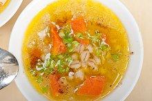 Syrian barley broth soup Aleppo style called talbina 023.jpg