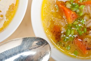 Syrian barley broth soup Aleppo style called talbina 026.jpg