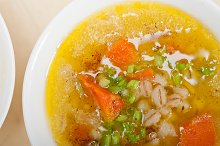 Syrian barley broth soup Aleppo style called talbina 025.jpg