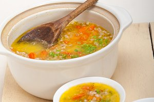 Syrian barley broth soup Aleppo style called talbina 027.jpg