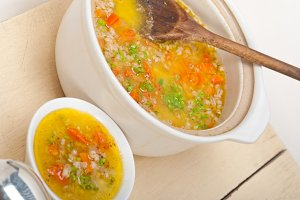 Syrian barley broth soup Aleppo style called talbina 029.jpg