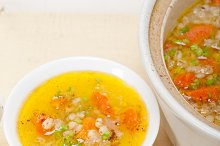 Syrian barley broth soup Aleppo style called talbina 034.jpg