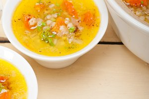 Syrian barley broth soup Aleppo style called talbina 034.jpg