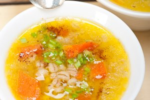 Syrian barley broth soup Aleppo style called talbina 032.jpg