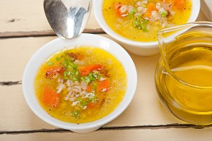 Syrian barley broth soup Aleppo style called talbina 037.jpg