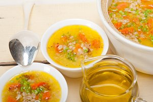 Syrian barley broth soup Aleppo style called talbina 036.jpg