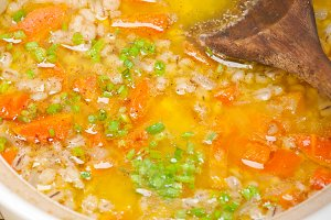 Syrian barley broth soup Aleppo style called talbina 038.jpg