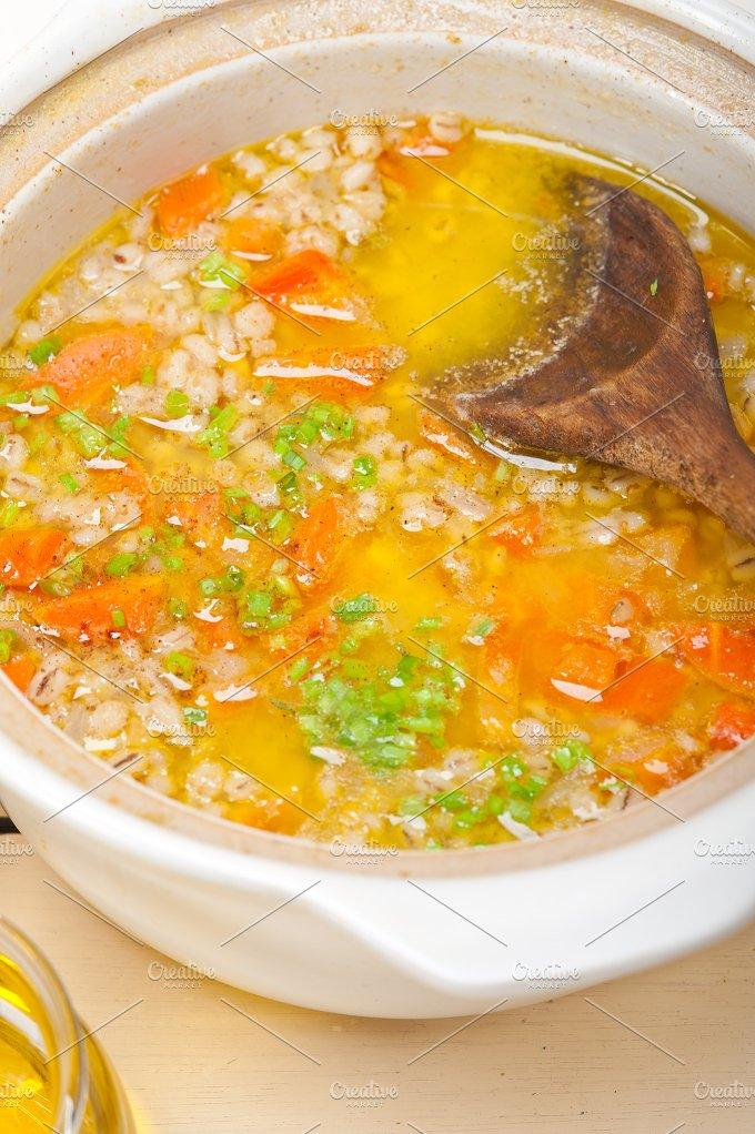 Syrian barley broth soup Aleppo style called talbina 038.jpg - Food & Drink