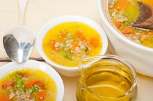 Syrian barley broth soup Aleppo style called talbina 039.jpg