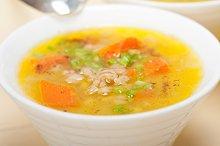Syrian barley broth soup Aleppo style called talbina 047.jpg