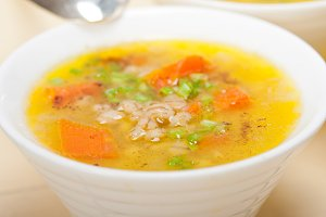 Syrian barley broth soup Aleppo style called talbina 047.jpg