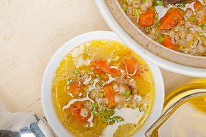 Syrian barley broth soup Aleppo style called talbina 042.jpg