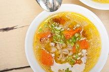 Syrian barley broth soup Aleppo style called talbina 044.jpg