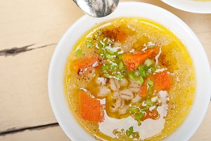 Syrian barley broth soup Aleppo style called talbina 044.jpg