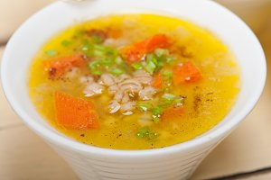 Syrian barley broth soup Aleppo style called talbina 048.jpg