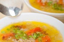 Syrian barley broth soup Aleppo style called talbina 051.jpg