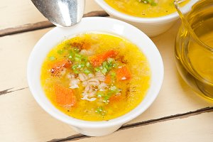 Syrian barley broth soup Aleppo style called talbina 054.jpg